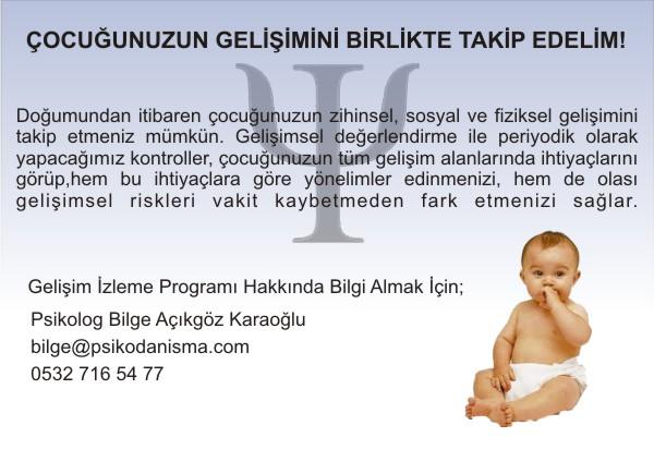 Çocuk gelişimi izleme programı